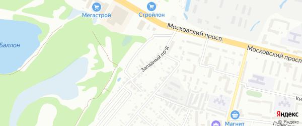 Снежная улица на карте Брянска с номерами домов