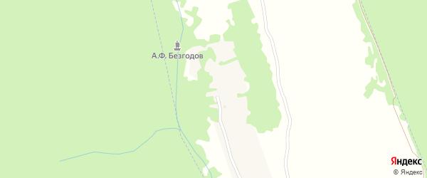 Речная улица на карте Первомайского поселка с номерами домов