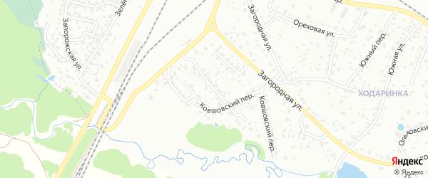 Ковшовская улица на карте Брянска с номерами домов