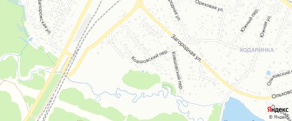 Ковшовский переулок на карте Брянска с номерами домов