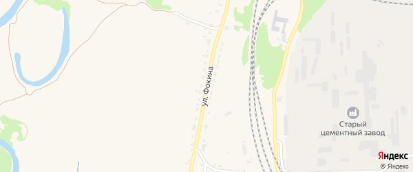 Улица Фокина на карте Фокино с номерами домов