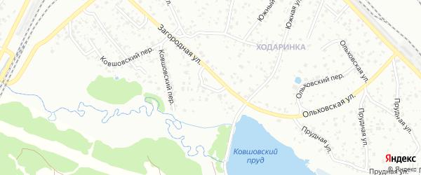 Неженский переулок на карте Брянска с номерами домов