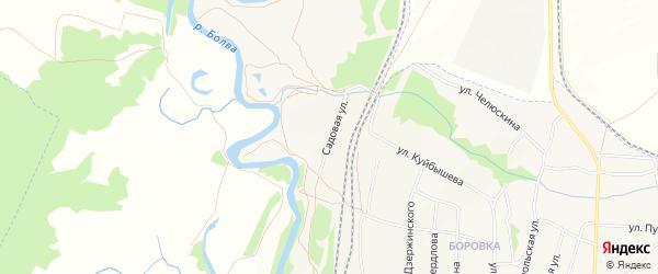 СТ Мичуринец-6 на карте Фокино с номерами домов