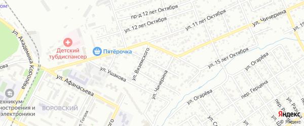 Кронштадтская улица на карте Брянска с номерами домов