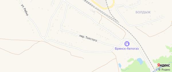Территория сдт Вишенка на карте Фокино с номерами домов