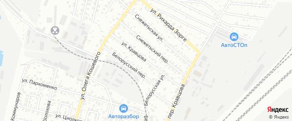 Улица Кравцова на карте Брянска с номерами домов