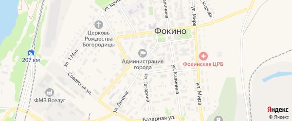 Улица Ленина на карте Фокино с номерами домов