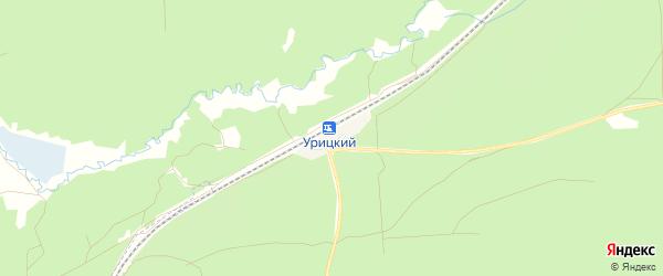 Карта железнодорожного разъезда 34 км в Брянской области с улицами и номерами домов