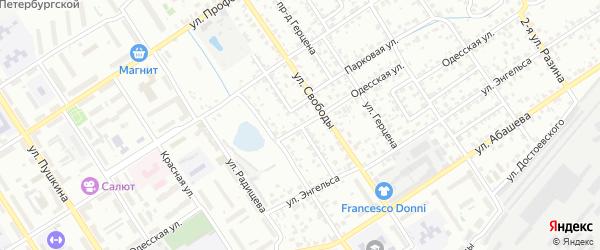 Проезд Мичурина на карте Брянска с номерами домов