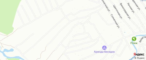 Территория Огородническое товарищество Флора на карте Брянска с номерами домов
