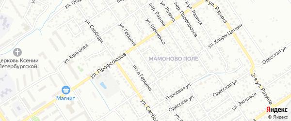 Улица Герцена на карте Брянска с номерами домов