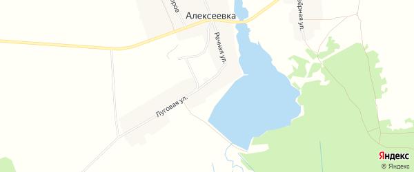 Карта деревни Алексеевки в Брянской области с улицами и номерами домов