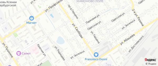 Улица Свободы на карте Брянска с номерами домов