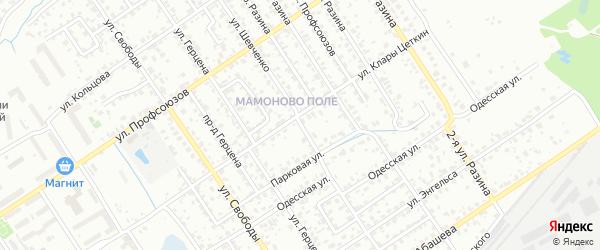 Улица Шевченко на карте Брянска с номерами домов