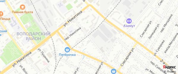 Краснофлотская улица на карте Брянска с номерами домов