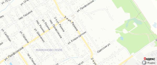 Улица 3-я Разина на карте Брянска с номерами домов