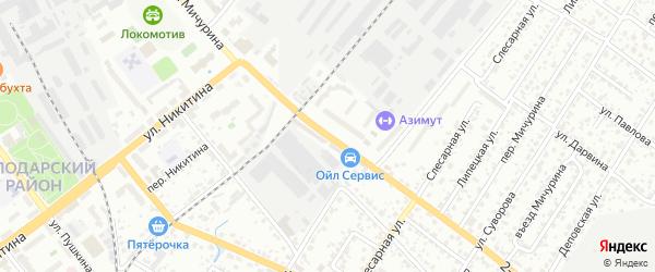 Территория со Дружба-2 ул Мичурина на карте Брянска с номерами домов