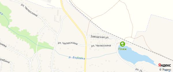 Заводская улица на карте Фокино с номерами домов