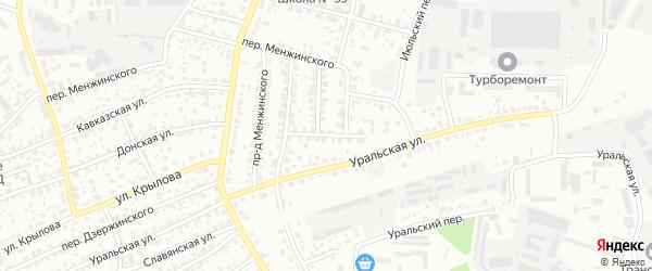 Транспортный переулок на карте Брянска с номерами домов