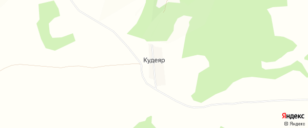 Карта поселка Кудеяра в Брянской области с улицами и номерами домов