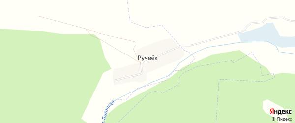 Карта поселка Ручейка в Брянской области с улицами и номерами домов