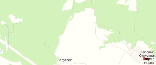 Карта поселка Круглого в Брянской области с улицами и номерами домов