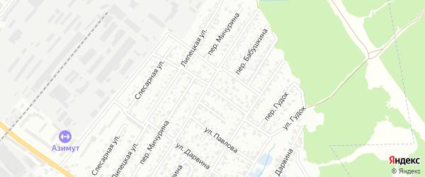 Улица Бабушкина на карте Брянска с номерами домов