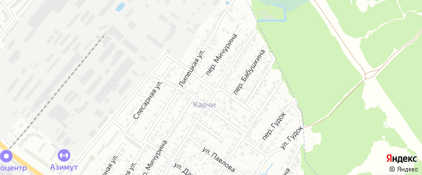 Улица 2-я Бабушкина на карте Брянска с номерами домов