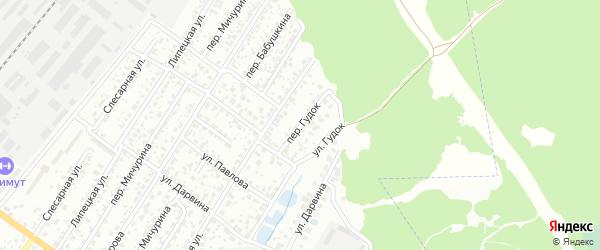 Переулок Гудок на карте Брянска с номерами домов