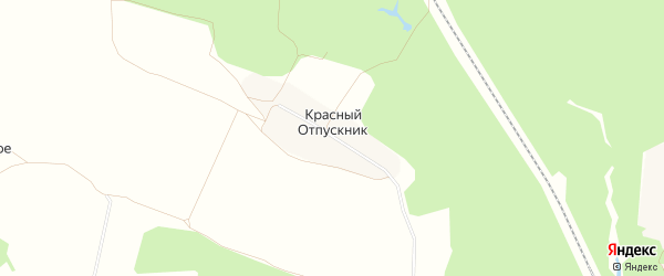 Карта поселка Красного Отпускника в Брянской области с улицами и номерами домов