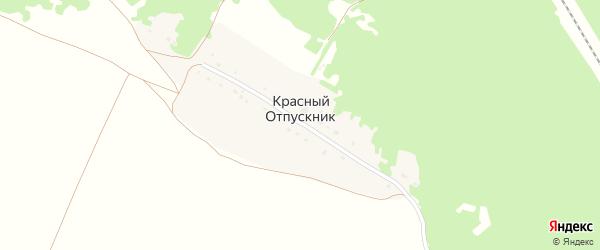 Территория СО Красный Отпускник на карте территории Навлинского городского поселения с номерами домов