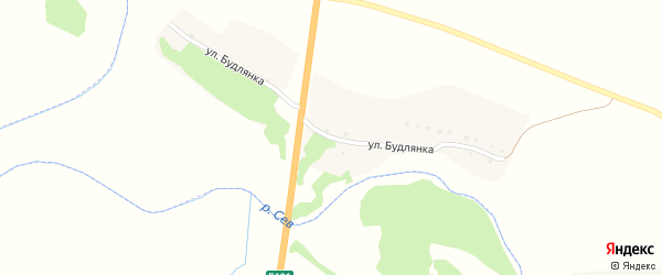 Улица Будлянка на карте Новоямского села с номерами домов