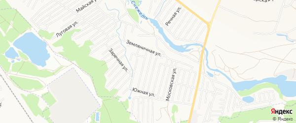 Территория СО Дружба на карте Брянска с номерами домов
