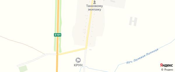 Центральная улица на карте поселка Косицы с номерами домов