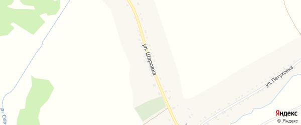 Улица Шаровка на карте Новоямского села с номерами домов