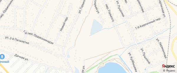 Полевая улица на карте поселка Большое Полпино с номерами домов