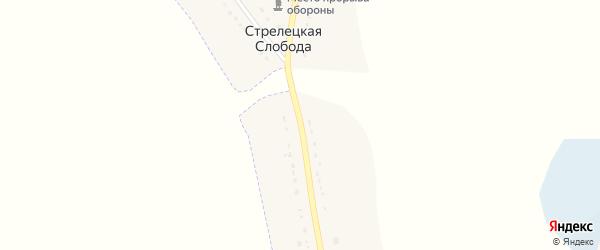 Севская улица на карте деревни Стрелецкой Слободы с номерами домов