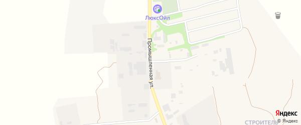 Промышленная улица на карте поселка Навли с номерами домов
