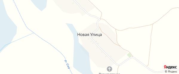 Новая улица на карте Новоямского села с номерами домов