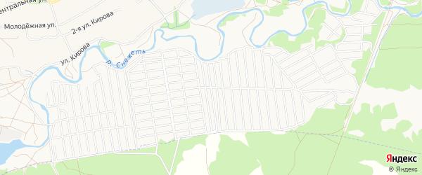 Территория СО Швейник на карте Брянска с номерами домов