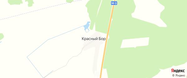 Карта поселка Красного Бора в Брянской области с улицами и номерами домов