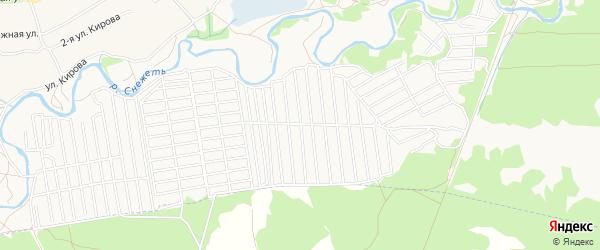 Территория СО Спартан на карте Брянска с номерами домов