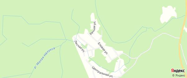 Карта садового некоммерческого товарищества Виктории города Майкопа в Адыгее с улицами и номерами домов