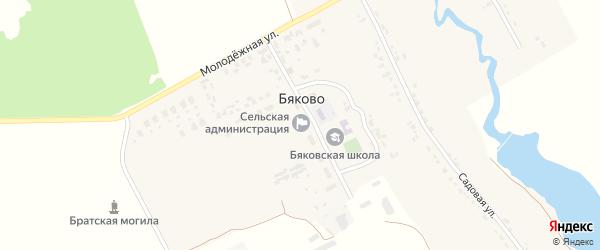 Территория Пай 57 на карте территории Бяковского сельского поселения с номерами домов