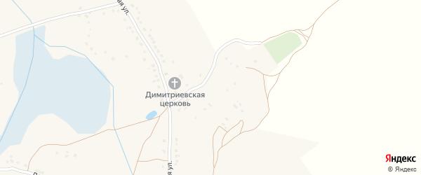 Советская улица на карте села Дубровки с номерами домов