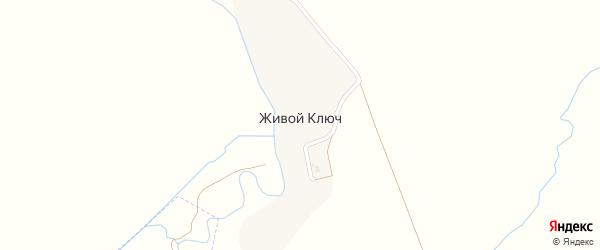 Садовая улица на карте поселка Живого Ключа с номерами домов