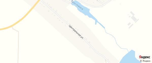 Центральная улица на карте села Шарово с номерами домов