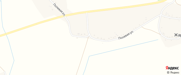 Полевая улица на карте поселка Жары с номерами домов