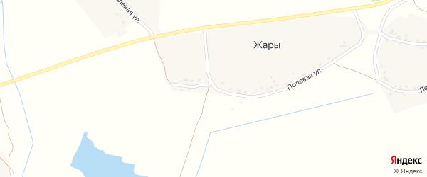 Полевая улица на карте деревни Моисеевки с номерами домов