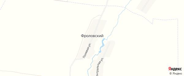 Карта Фроловского поселка в Брянской области с улицами и номерами домов
